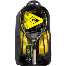 SET DUNLOP CV TEAM 25 (RACCHETTA 25 JUNIOR + ZAINO + TUBO DA 3 PALLINE STAGE 3 GREEN)
