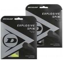 CORDAGE DUNLOP EXPLOSIVE SPIN (12 METRES)