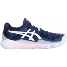 SCARPE ASICS DONNA GEL RESOLUTION 8 TERRA BATTUTA