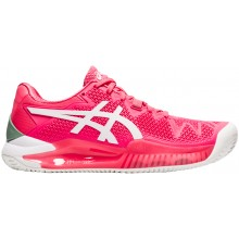 SCARPE ASICS DONNA GEL RESOLUTION 8 PARIS TERRA BATTUTA