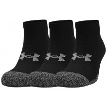 3 PAIA DI CALZE UNDER ARMOUR HEATGEAR LO CUT