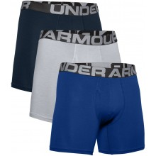 CONFEZIONE DA 3 BOXER UNDER ARMOUR CHARGED COTTON 6IN