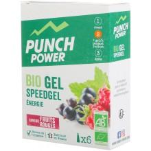 BOÎTE DE 6 GELS PUNCH POWER SPEEDGEL FRUITS ROUGES