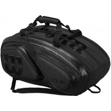 BORSA DA TENNIS WILSON TOUR V 15 BLACK PACK (THERMO)