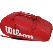 BORSA DA TENNIS WILSON SUPER TOUR INFRARED 3 COMP