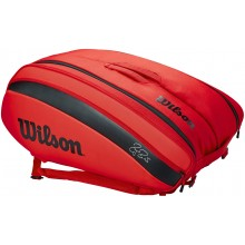 BORSA DA TENNIS WILSON FEDERER DNA 12 RED