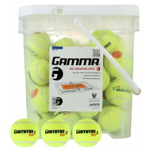 "BARILE DA 48 PALLE DA TENNIS ""ORANGE"" (2°LIVELLO) GAMMA"