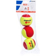 SACCO DI 3 PALLE BABOLAT RED FELT