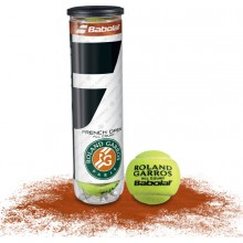 TUBO DI 4 PALLE BABOLAT FRENCH OPEN ALL COURT