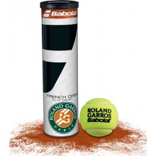 TUBO DI 4 PALLE BABOLAT FRENCH OPEN