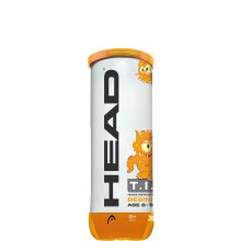 TUBO DA 3 PALLINE HEAD TIP ARANCIONI