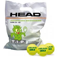 SACCO CON 72 PALLE HEAD T.I.P GREEN