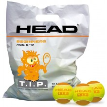 SACCHETTO DI 72 PALLE HEAD T.I.P ORANGE