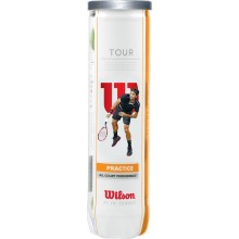 TUBO DA 4 PALLE WILSON TOUR PRACTICE