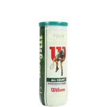 TUBO DA 3 PALLINE WILSON TOUR ALLCOURT