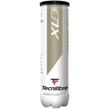 TUBO DA 4 PALLINE TECNIFIBRE XLD (SENZA PRESSIONE)