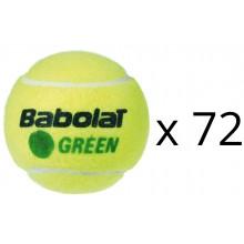 RICARICA 72 PALLINE BABOLAT GREEN