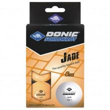 PALLINE TT 40 DONIC-SCHILDKROT JADE POLY 40+ SPARE TIME X6