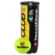Tubo di 3 palle da tennis Tecnifibre Club