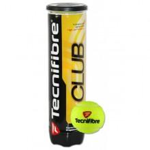 Tubo di 4 palle da tennis Tecnifibre Club