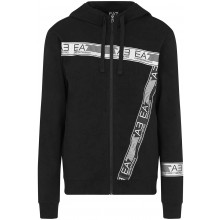 FELPA CON CAPPUCCIO E ZIP EA7 TRAIN LOGO SERIES