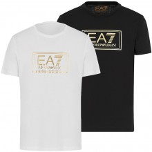 MAGLIETTA EA7 TRAINING CASUAL GOLD LABEL