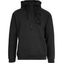 FELPA EA7 CON CAPPUCCIO 1/2 ZIP