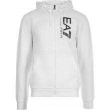 FELPA EA7 CON CAPPUCCIO E ZIP