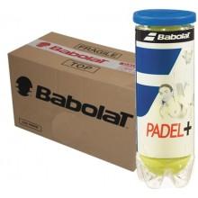 CARTONE DI 24 TUBI DA 3 PALLINE DA PADEL BABOLAT PADEL+