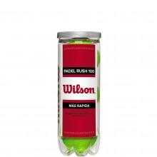 TUBO DA 3 PALLINE PADEL WILSON RUSH 100