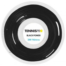 ROTOLO TENNISPRO BLACK POWER (220 METRI)