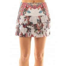 GONNA LUCKY IN LOVE HI ANIMAL FEVER PLEATED SCALLOP