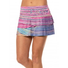 JUPE LUCKY IN LOVE LOVE LINE PLEATED SCALLOP
