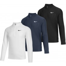 MAGLIETTA NIKE COURT BREATHE ADVANTAGE DRI-FIT 1/2 ZIP MANICHE LUNGHE