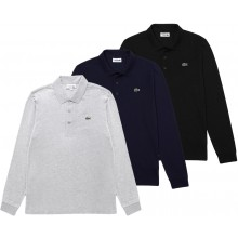 POLO LACOSTE LIFESTYLE MANCHES LONGUES