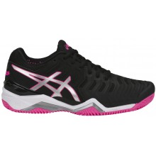 SCARPE ASICS DONNA GEL RESOLUTION 7 TERRA BATTUTA