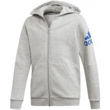 FELPA CON CAPPUCCIO ADIDAS A CERNIERA TRAINING JUNIOR MUST HAVE BOS