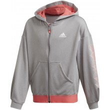 FELPA CON CAPPUCCIO ADIDAS JUNIOR RAGAZZA AEROREADY ZIP