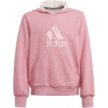 FELPA CON CAPPUCCIO ADIDAS JUNIOR RAGAZZA BADGE OF SPORT