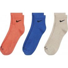 3 PAIRES DE CHAUSSETTES NIKE EVERYDAY PLUS LIGHTWEIGHT