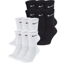 6 PAIA DI CALZINI ALTEZZA MEDIA NIKE CUSHION EVERYDAY