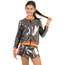 GIACCA LUCKY IN LOVE JUNIOR METALLIC GROOVY STRIPE