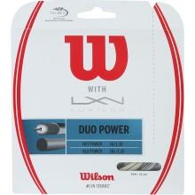 CORDA WILSON DUO POWER : LUXILON ALU POWER & WILSON NXT POWER 1.25 (12.20 METRI)