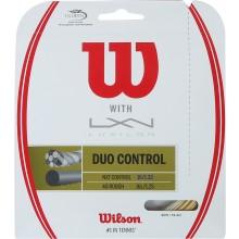 CORDA WILSON DUO CONTROL: LUXILON 4G & WILSON NXT CONTROL 1.25 (12.20 METRI)