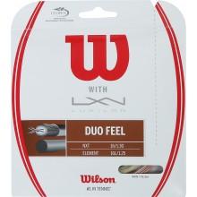CORDA WILSON DUO FEEL:  LUXILON ELEMENT & WILSON NXT 1.25 (12.20 METRI))
