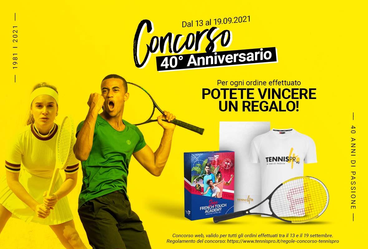 Tennispro 40 ans