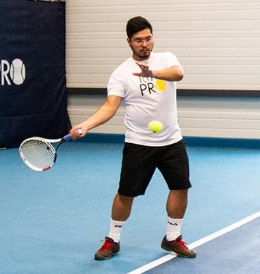 Image test cordage de tennis