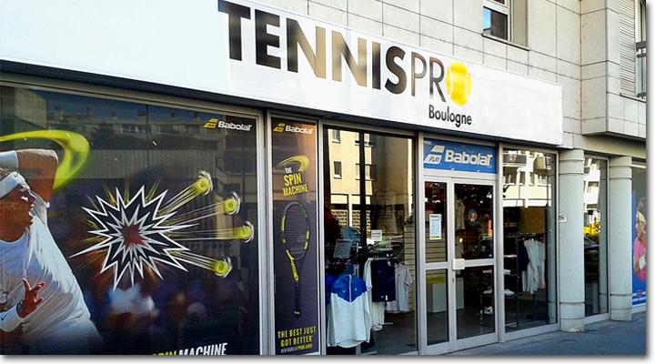38ced95432b69 magasin tennispro Boulogne
